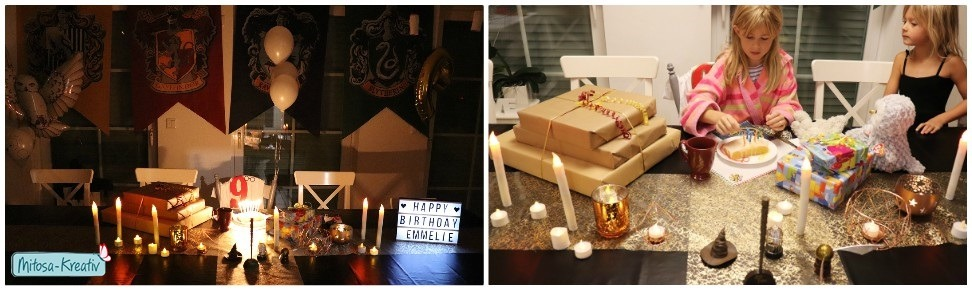 Harry Potter, Geburtstagstafel, Harry Potter Party, Mitosa-Kreativ, Kindergeburtstag